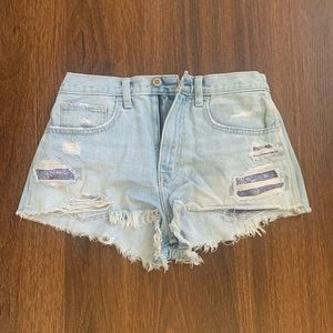 Extra High-Rise Hollister Shorts